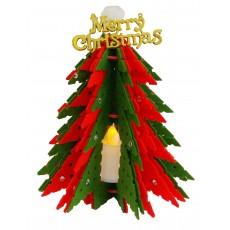 꼬매아트 크리스마스 트리무드등 만들기