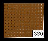 꼬매아트 펀칭 펠트지 원단 880(연갈색)