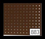 꼬매아트 펀칭 펠트지 원단 883(갈색)