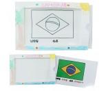 세계여러나라 국기2 시크릿카드 만들기