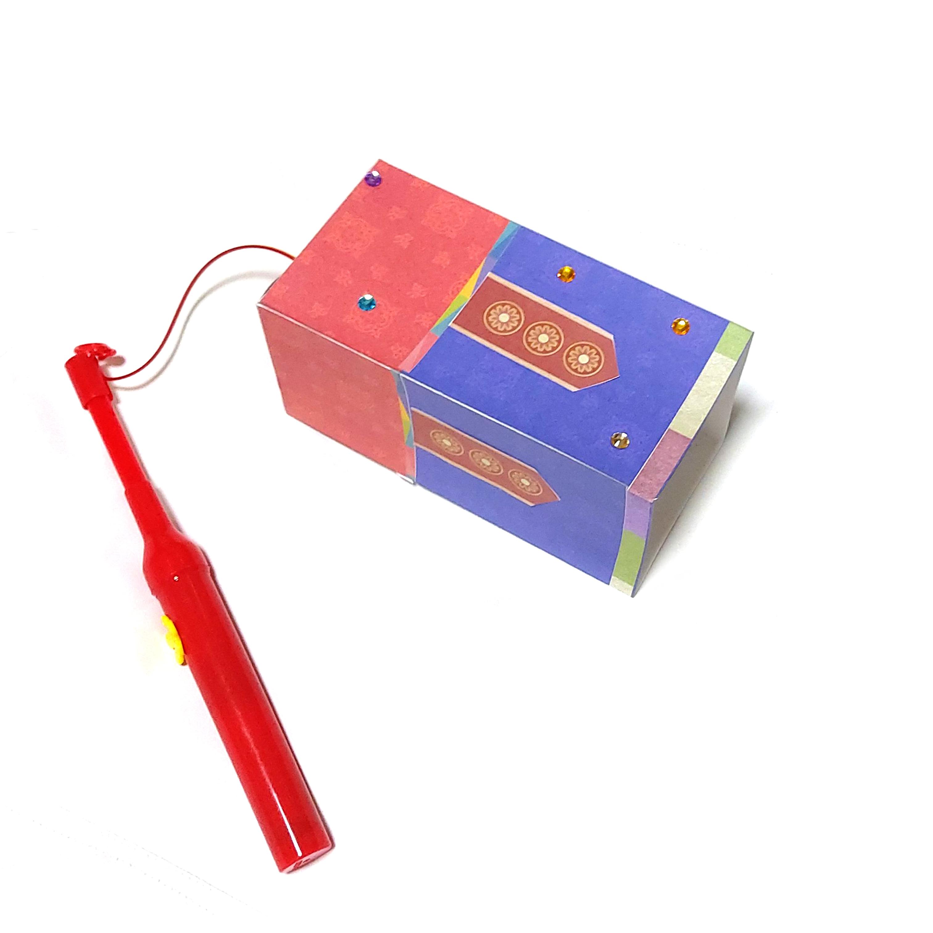 LED종이접기 청사초롱만들기(건전지 포함)